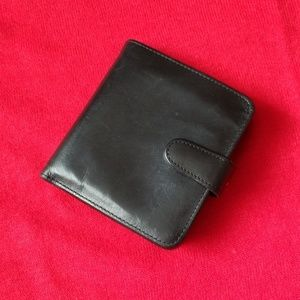 Coach Genuine Leather Wallet,  Black
